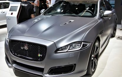 Jaguar XJR575 review