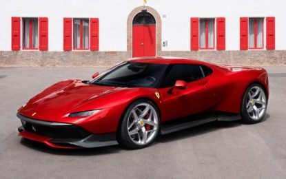 Another One-Off Ferrari: The Special Project 38
