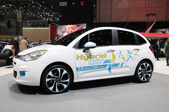 hybrid vehicle