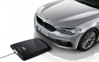 BMW Introduces World's First Wireless Charging System for Cars