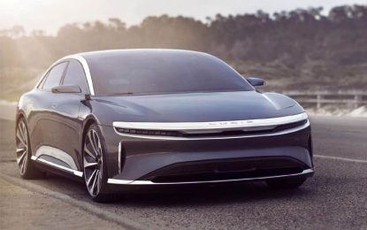 Lucid Will Unveil the Production Version of its Lucid Air on September 9
