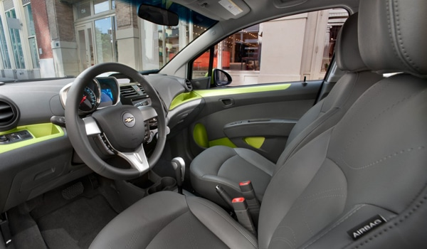 2013 Chevrolet Spark Manual Hatchback- Interior