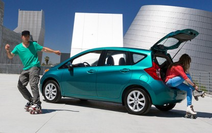 2014 Nissan Versa Note Hatchback: Top Fuel Economy Hatchback