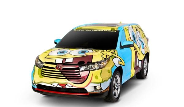 2014 SpongeBob Toyota Highlander - Exterior