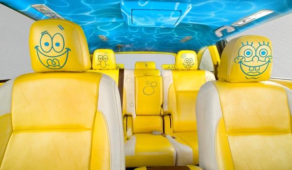 2014 SpongeBob Toyota Highlander - Interior