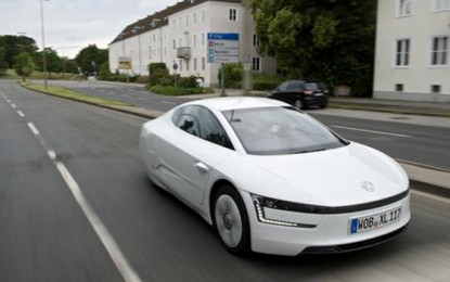 2014 Volkswagen XL1: The Futuristic Fuel Efficient Coupe