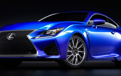 Brand-New Lexus RC F: A Nimble Super Car of High Performance