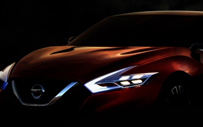 Nissan's Sport Sedan Concept makes its debut at 2014 North American Auto Show