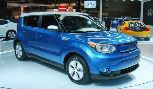 2015 Kia Soul EV  - Exterior