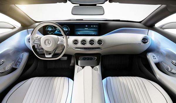 2015 Mercedes-Benz S-Class Coupe - Interior