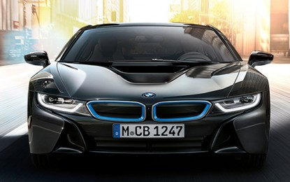 BMW i8 Becomes The First Car To Have Laser Headlights