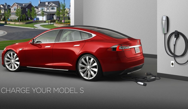Charge your Model S