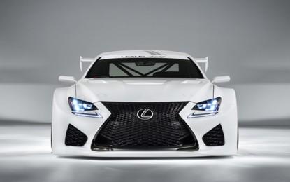Lexus Debuts RC F GT3 Racing Concept at 2014 Geneva Motor Show