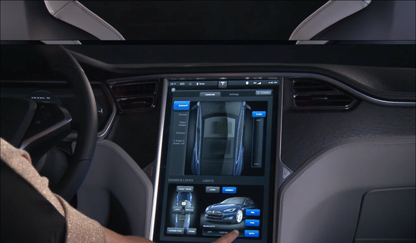 Tesla Model S - Lcd
