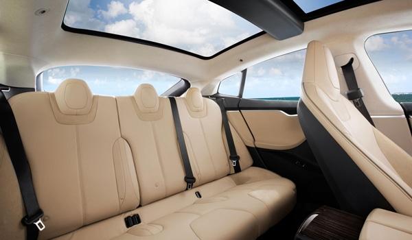 Tesla Model S - seat