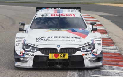 BMW M4 Ready to Roll for the First time in DTM