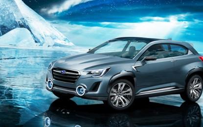Subaru VIZIV 2 Concept Revealed at Geneva Motor Show