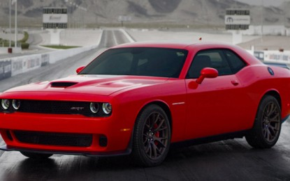 The 2015 Dodge Challenger SRT Hellcat Takes the Crown of Most Powerful American Muscle Car Ever Made