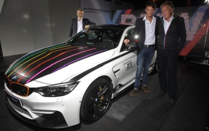 BMW Offers Tribute to Wittmann with M4 DTM Championship Edition