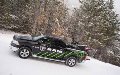 Ram Truck Returns as the Official Truck of Tucker Hibbert's Team
