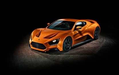 Zenvo ST1 Supercar Catches Fire during a Review