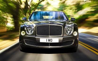 Elegance in 2015 Bentley Mulsanne Speed