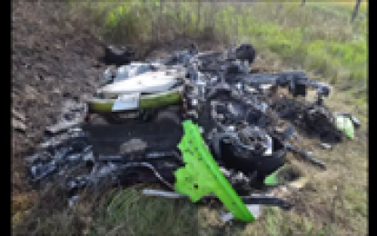 Horrible Video: Lamborghini Crashes at an Incredible Speed of 320 km/h