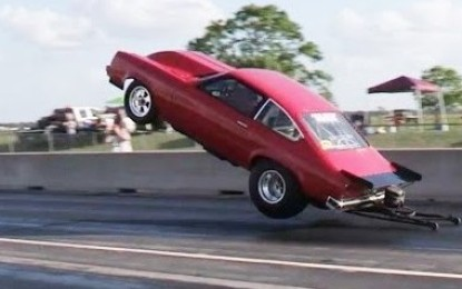 Bayou Drags Incredible Wheelie Performance (Video)
