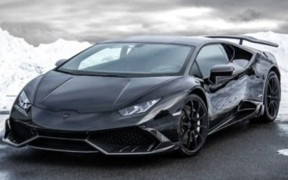 Check the New Mansory Huracan That's Powerful in Black