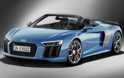 Audi R8 Spyder Likely to Come Out Next Year