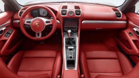 Porsche Boxter S Interior
