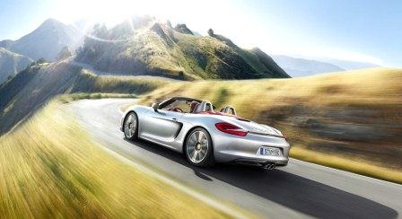 Porsche Boxter S back