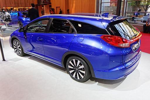 Honda Civic Tourer blue