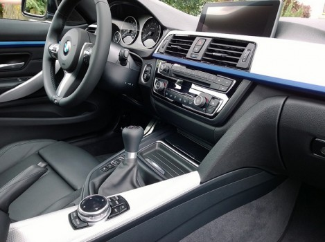 2014 BMW 435i coupe interior
