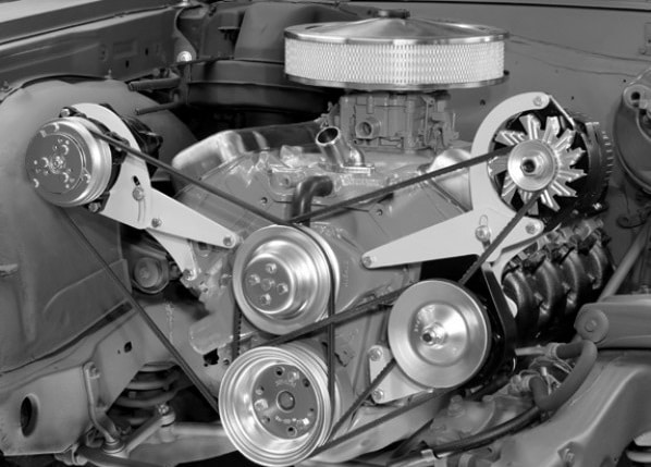 first-power-steering-system