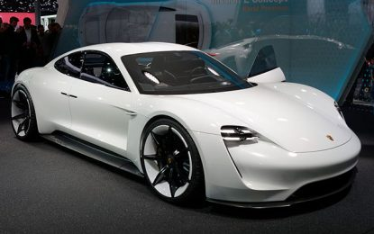 Porsche Reveals the Specs of Taycan the First of the 'Mission E'
