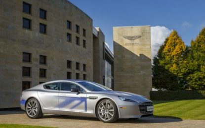 Aston Martin's First Electric Sports Sedan: Rapide E Specs Finally Disclosed