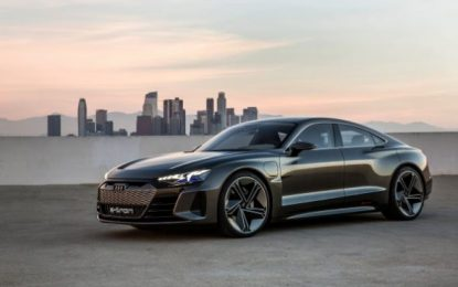 Audi Unveils the Crown Jewel of Its Electric Line-Up: e-Tron GT