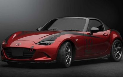 The All-time Favorite Mazda Miata MX- 5 Gets a Carbon Fiber Hardtop Among Other Features