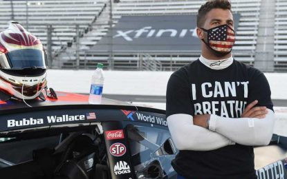 Bubba Wallace Forces the Confederate Flag Ban at all Nascar's Events