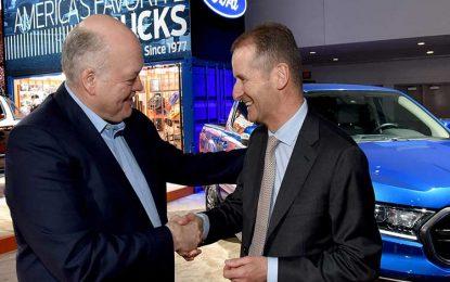 Ford, Volkswagen Target 8 Million Vehicles in Van Alliance