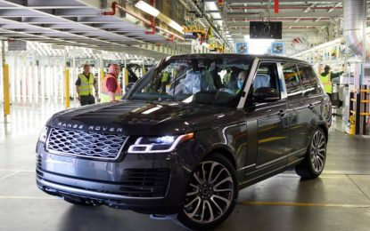 Last Financial Year Brings losses worth £422m for the Jaguar Land Rover