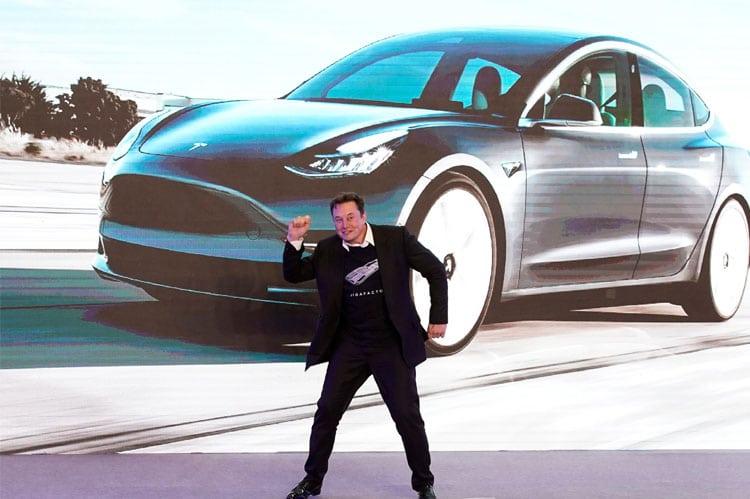 Tesla chief