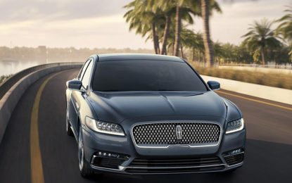 Ford Says Goodbye to the Lincoln Continental