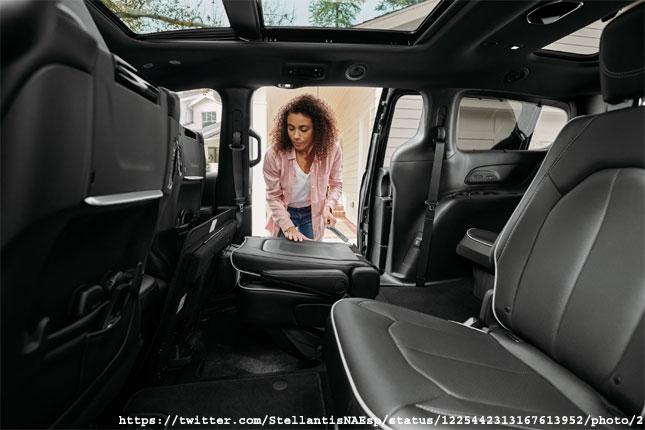 Stow And Go Seat Minivan